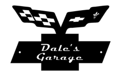 dales garage Free Dxf File for CNC