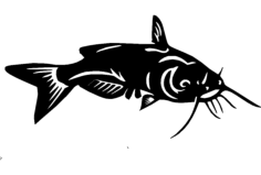 catfish Free Dxf File for CNC