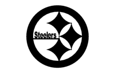 steelers Free Dxf File for CNC