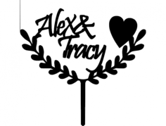 alex- -tracy 03 Free Dxf File for CNC
