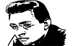 johnny cash Free Dxf File for CNC