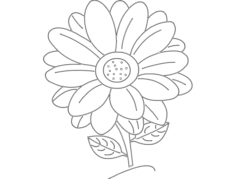 daisy Free Dxf File for CNC