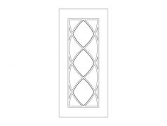 baklava deseni̇ Free Dxf File for CNC