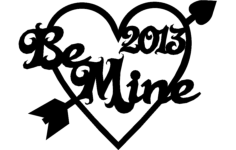 valentine 2013 Free Dxf File for CNC