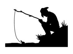 fishin Free Dxf File for CNC