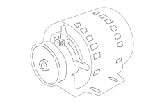 electric motor Free Dxf File for CNC