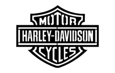 harley d logo Free Dxf File for CNC