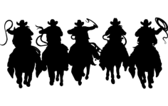 horsemen 5 Free Dxf File for CNC
