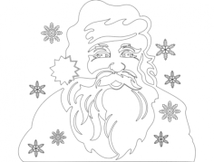 holiday attraction 19 Free Dxf File for CNC