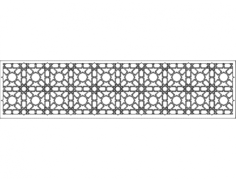 grille patterns spr10x2 Free Dxf File for CNC