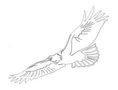 eagle 2 -1 Free Dxf File for CNC
