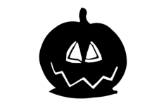 pumpkin Free Dxf File for CNC
