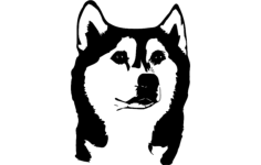 husky Free Dxf File for CNC