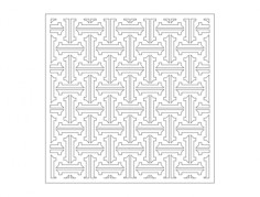 ornamental 1 Free Dxf File for CNC