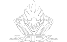 vtx Free Dxf File for CNC