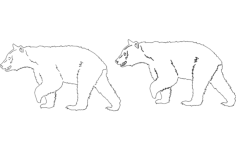animals 3 Free Dxf File for CNC