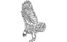 eagle 7 Free Dxf File for CNC