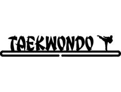 taekwondo boy Free Dxf File for CNC