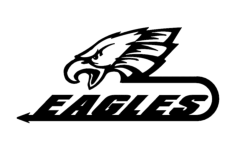 eagles 2 Free Dxf File for CNC