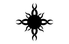 sun design Free Dxf File for CNC