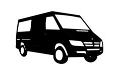van Free Dxf File for CNC