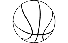 basketball 2 Free Dxf File for CNC