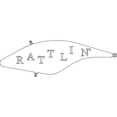 rattlin' lure Free Dxf File for CNC