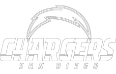 chargers Free Dxf File for CNC