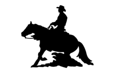 horse and rider Free Dxf File for CNC