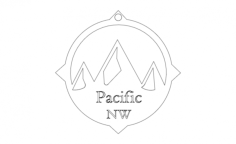 pacific north westFree Dxf File for CNC
