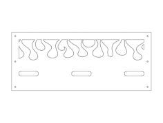 firering 1 Free Dxf File for CNC