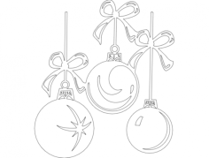 things festive 03 Free Dxf File for CNC