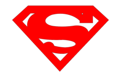 superman Free Dxf File for CNC