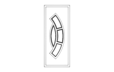 door Free Dxf File for CNC