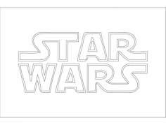 starwars Free Dxf File for CNC