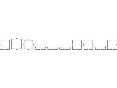 caixa 06x06x06 sapato Free Dxf File for CNC