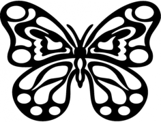 borboleta 2 Free Dxf File for CNC