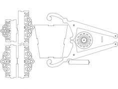 2164 carriola corel draw Free Dxf File for CNC