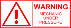 warning sign Free Dxf File for CNC