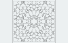 grille pattern Free Dxf File for CNC