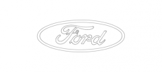 ford Free Dxf File for CNC