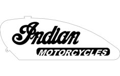 indian motorcycles gas tank Free Dxf File for CNC