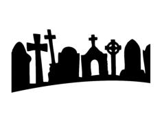 gravestone Free Dxf File for CNC