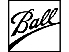 ball logo Free Dxf File for CNC