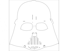 star wars 2 Free Dxf File for CNC
