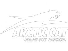arctic cat 1 Free Dxf File for CNC