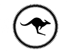 kangaroo Free Dxf File for CNC