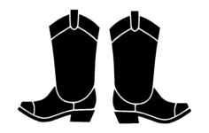 boots Free Dxf File for CNC