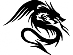 dragao Free Dxf File for CNC
