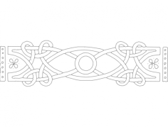 celtic all seeing eye Free Dxf File for CNC